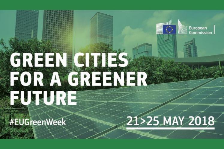 Settimana verde dell'UE, 21-25 maggio 2018