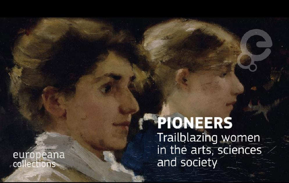 Mostra online sulle donne europee che si sono distinte nel campo delle arti e delle scienze