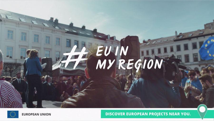 Parte la campagna EU in my Region: migliaia di progetti finanziati dall'UE sotto i riflettori