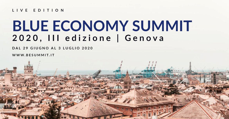 Blue Economy Summit: dal 29 giugno al 3 luglio 2020 a Genova l'evento dedicato all'Economia del mare